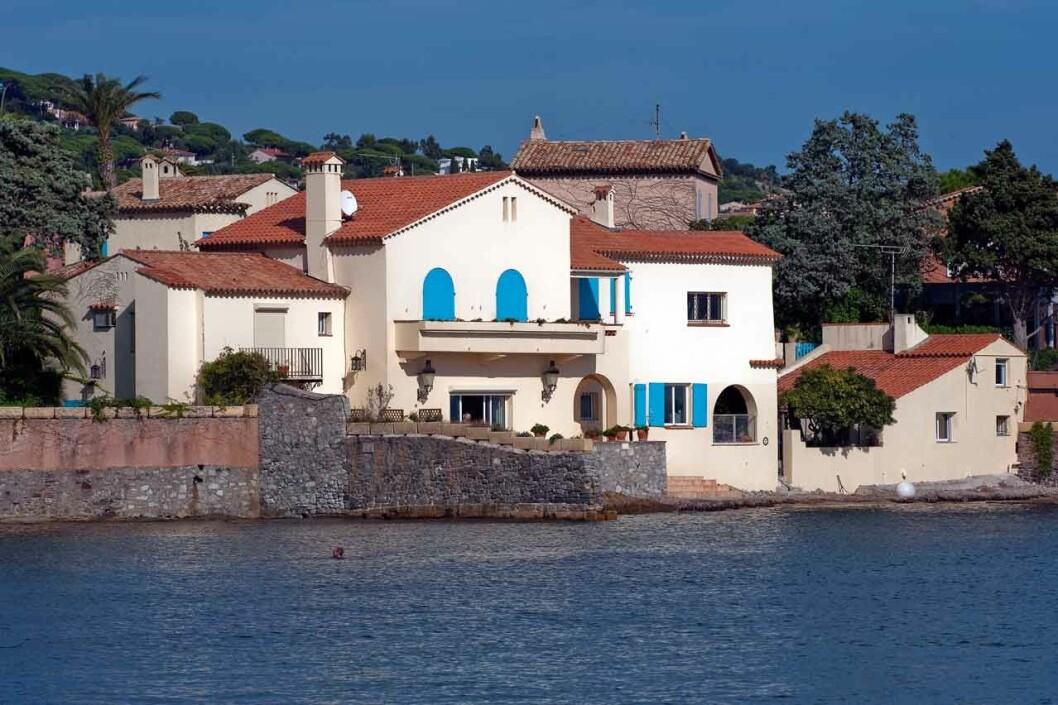 Kungafamiljens hus Villa Mirage i Sainte-Maxime på Franska rivieran.