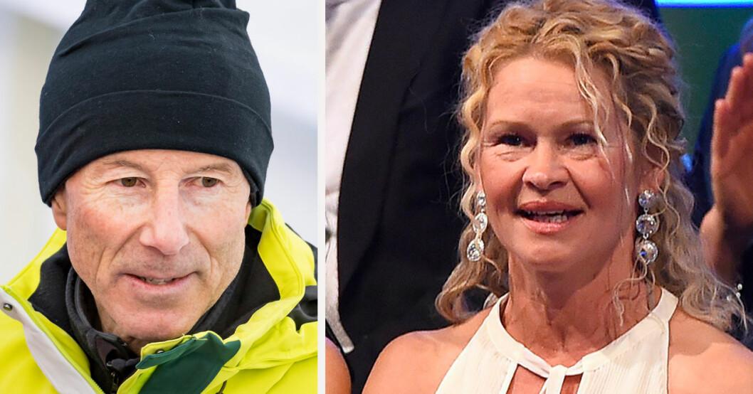 Ingemar Stenmark och Tarja Stenmark