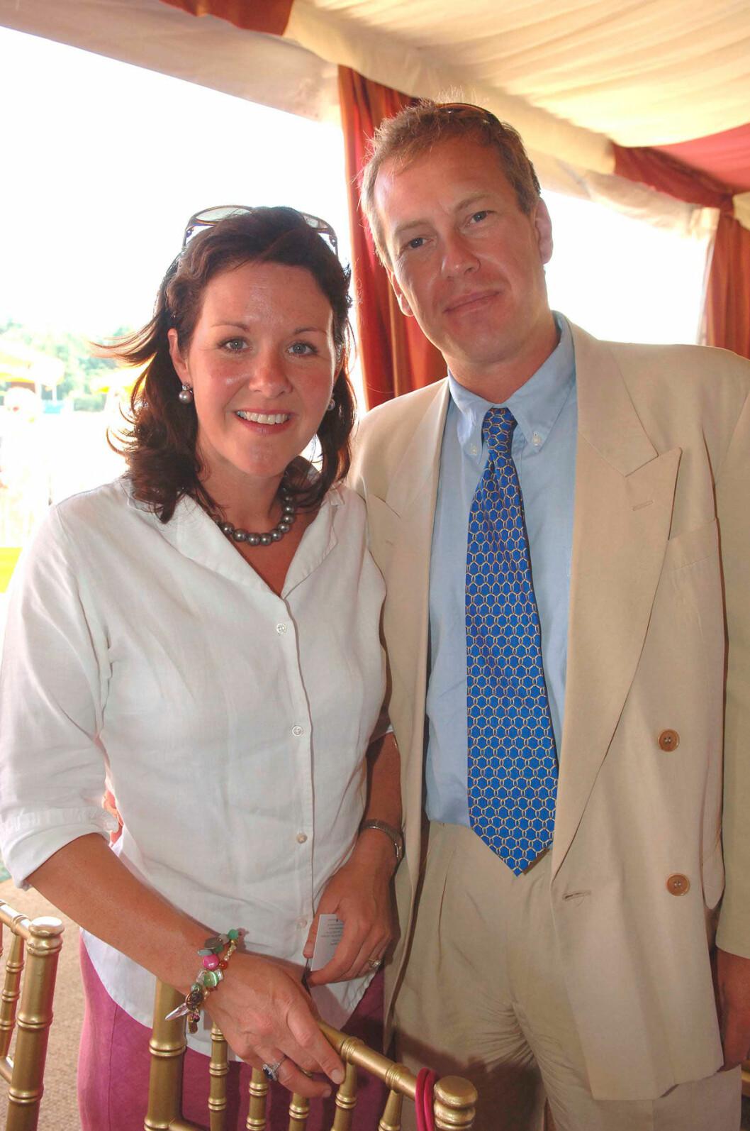 Ivar Mountbatten och hans tidigare hustru, Penny.