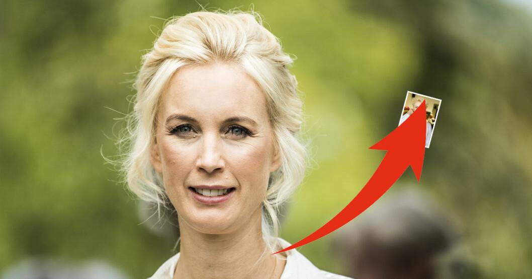Jenny Strömstedts utseendeförändring – bilden visas upp inför alla