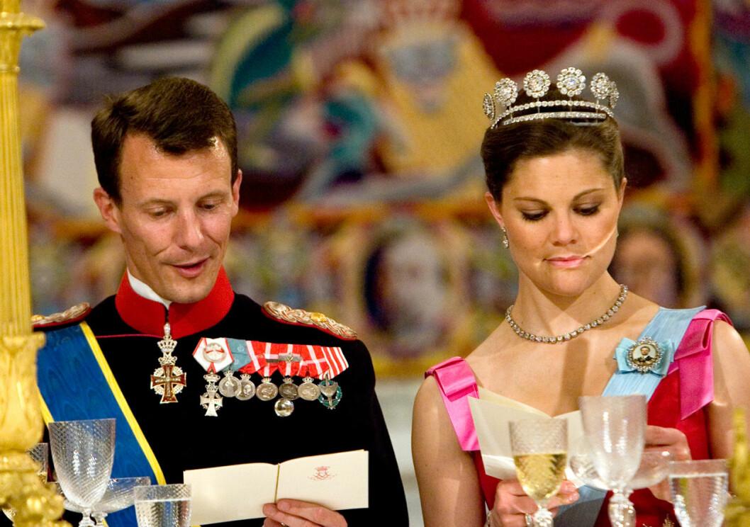 Prins Joachim och Victoria – under lyckligare tider.