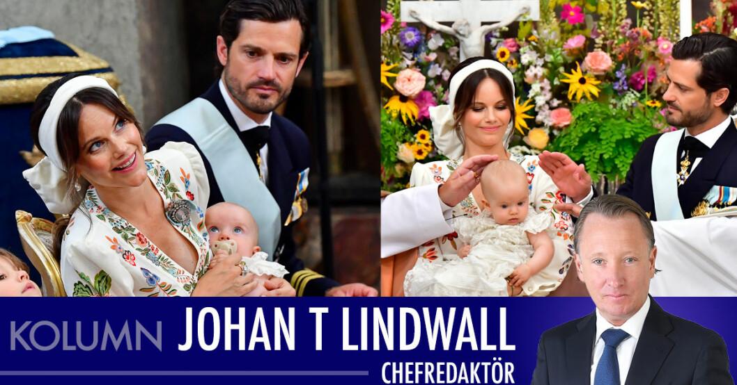 Johan T Lindwall om prins Julians kungliga dop