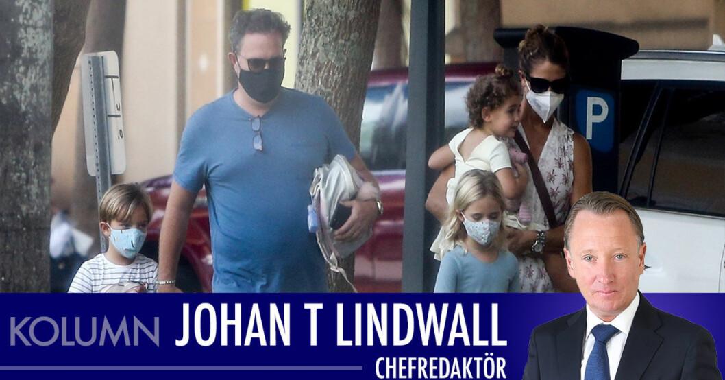 johan t lindwall om de nya bilderna på madeleine och chris