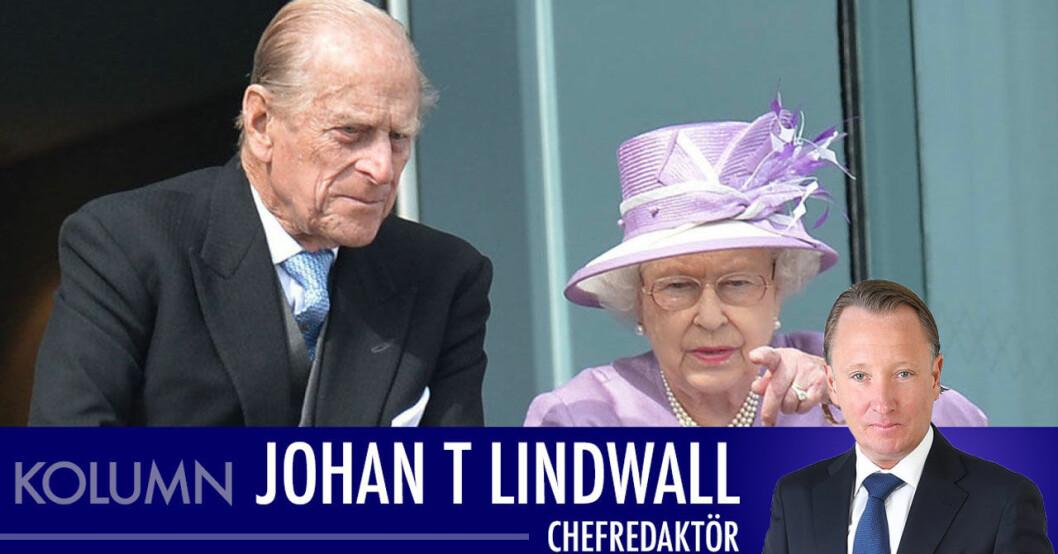 Johan T Lindwall om prins Philips död
