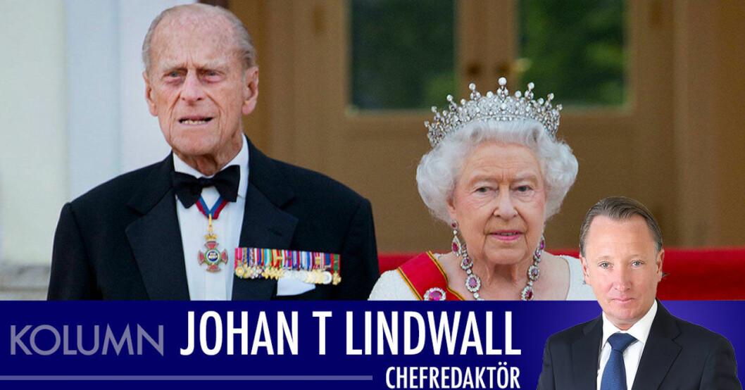 Johan T Lindwall om prins Philips sorg och mardrömsåret för drottning Elizabeth