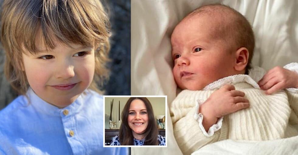 Prins Julian Prins Alexander Prinsessan Sofia