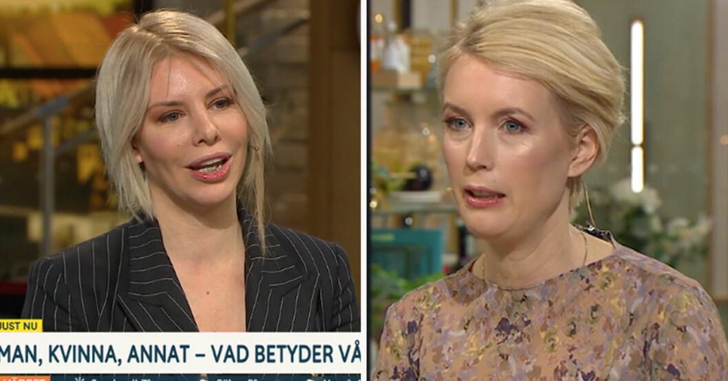 Kajsa Ekis Ekman och Jenny Strömstedt