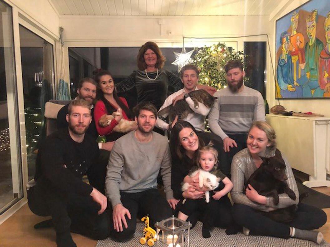 Karin Granberg i Fråga doktorn med sin stora familj!