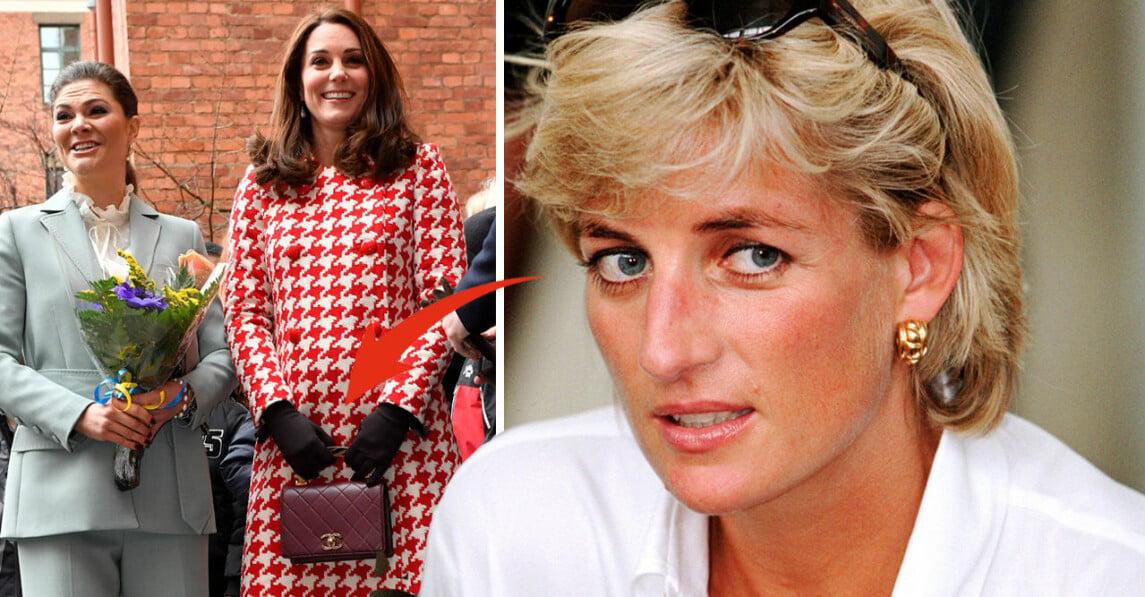 Kronprinsessan Victoria Hertiginnan Catherine Kate Middleton Prinsessan Diana