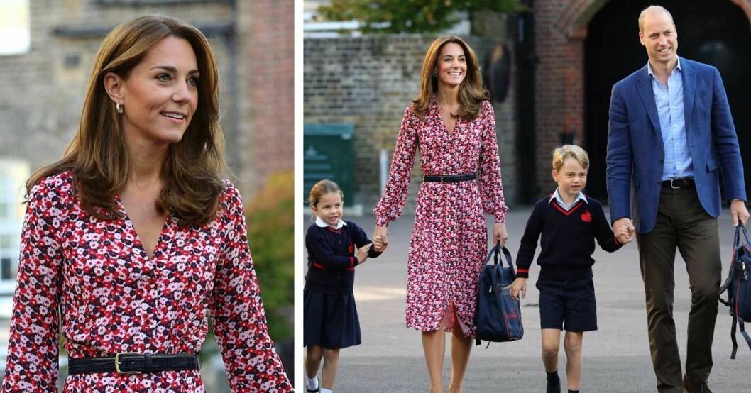 Kate i klänning från Michael Kors