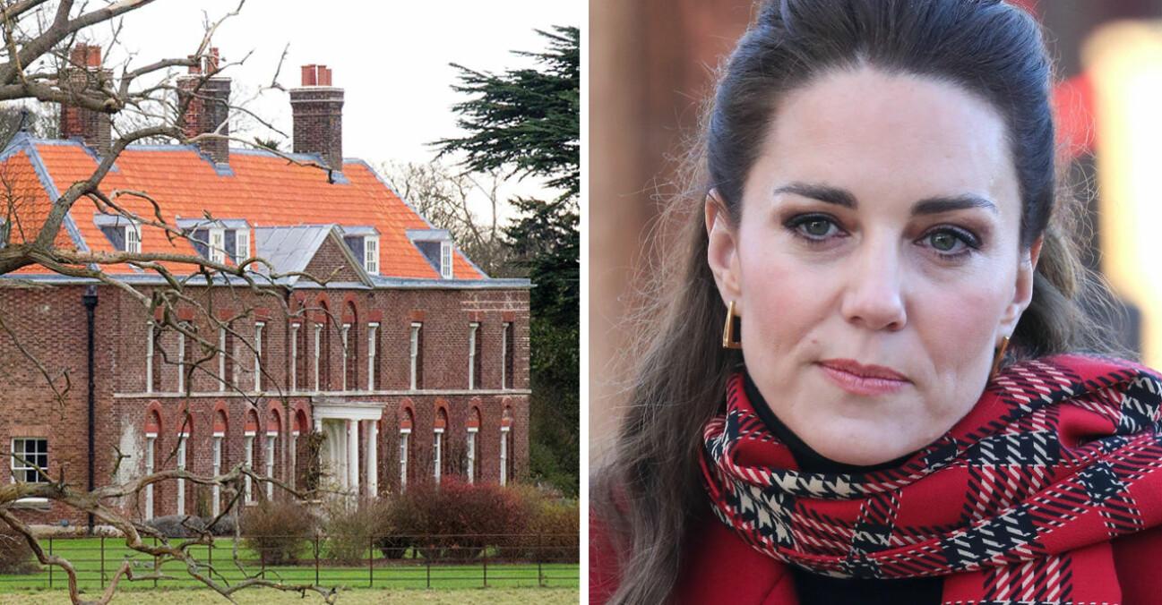 Kate Middleton Anmer Hall