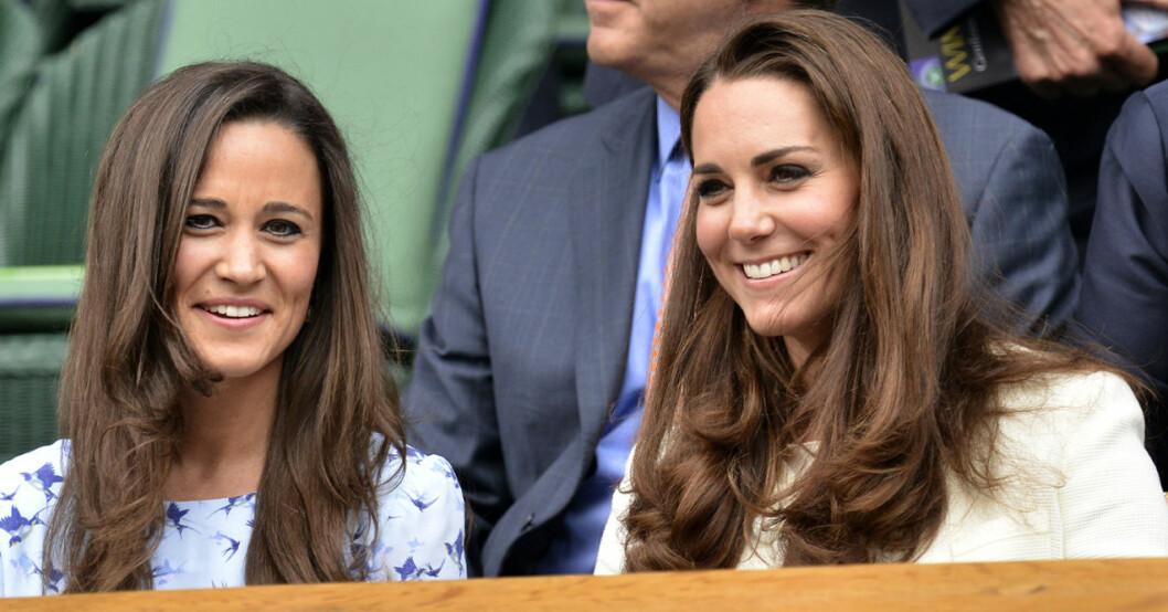 Pippa Middleton och Kate Middleton