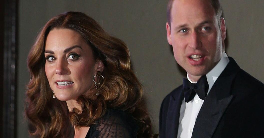 Prins William och hertiginnan Catherine, eller Kate