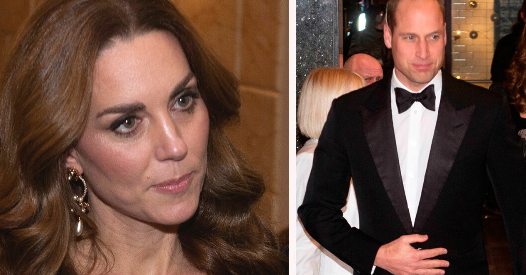 Hertiginnan Kate och prins William.