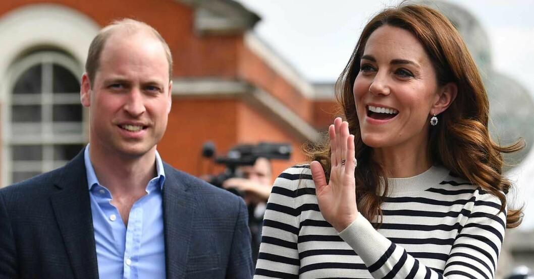Kate och William