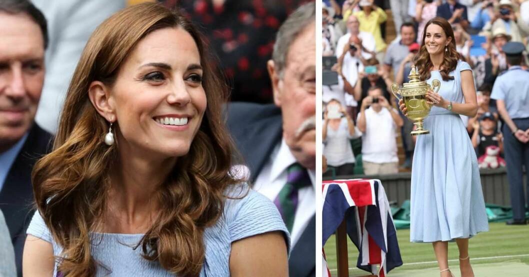 Kate på Wimbledon 2019