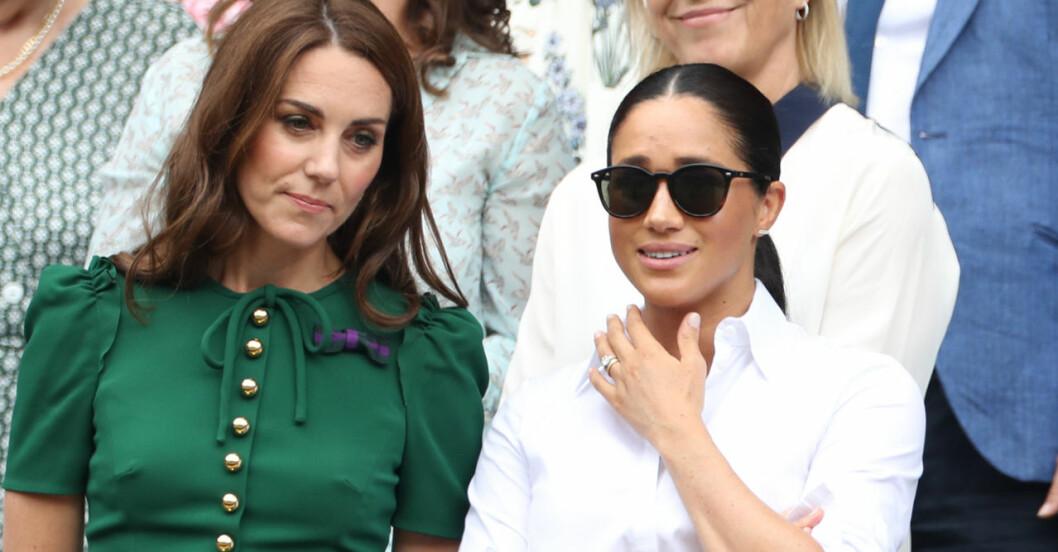 Kate och Meghan på tennis – när de fortfarande var vänner.