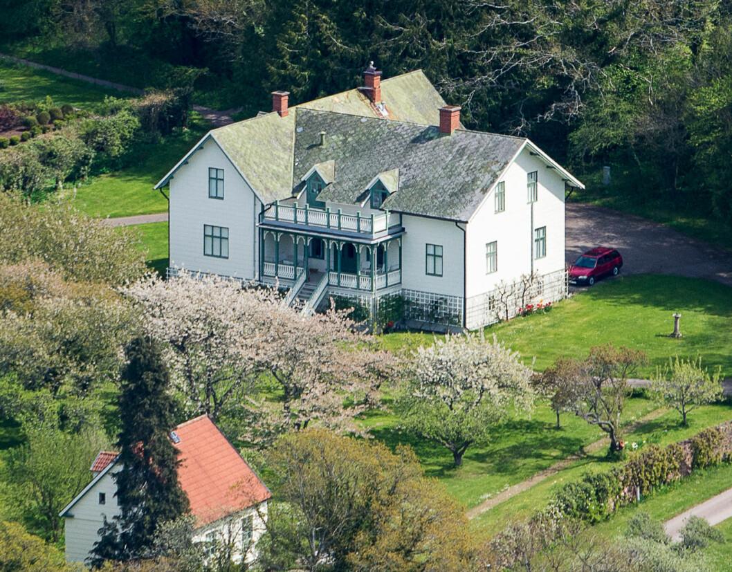 Kavaljershuset på Solliden. Här bor prinsessan Madeleine och Chris O'Neill när de är på Öland.