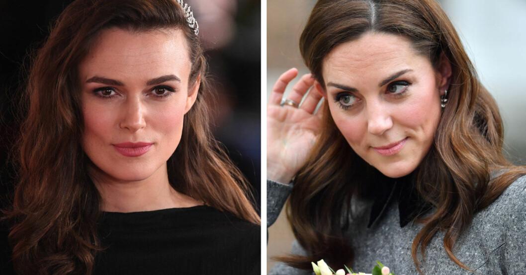 Keira Knightley kritiserar Kate Middleton