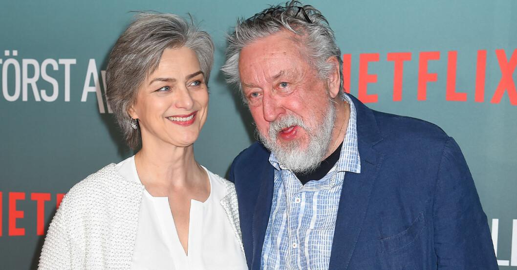 leif GW och frun Kim Persson.