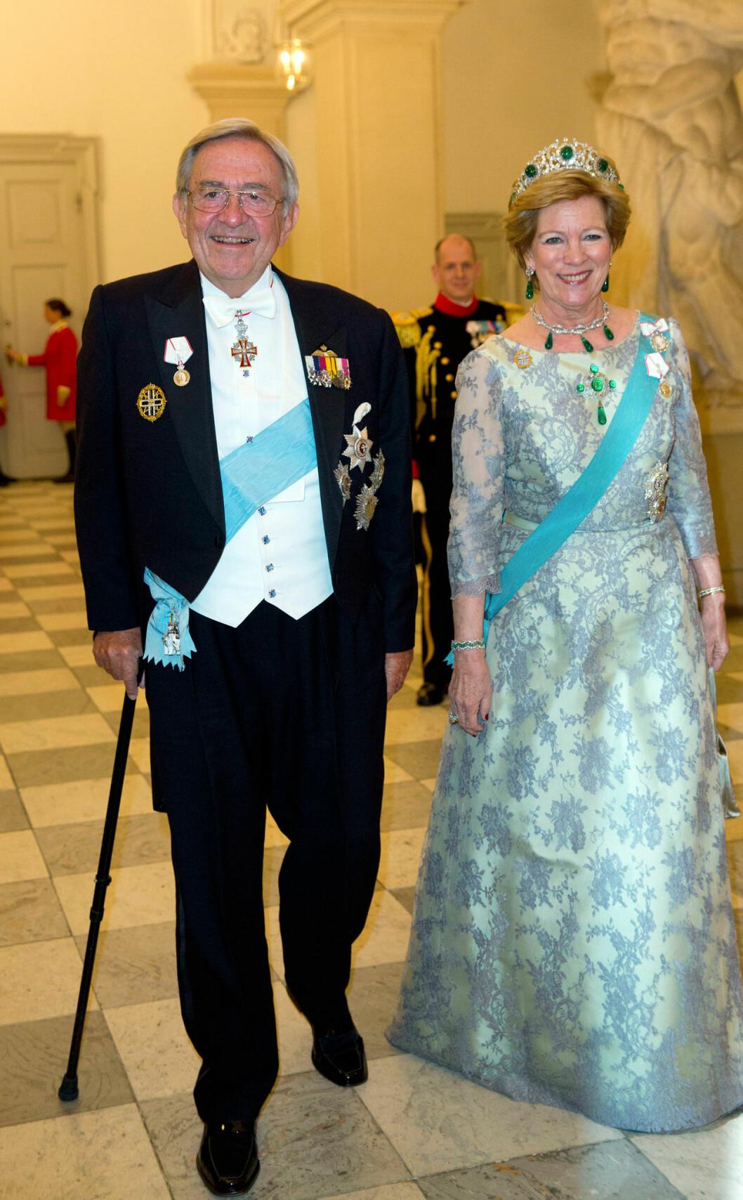 Kung Konstantin och drottning Anne-Marie