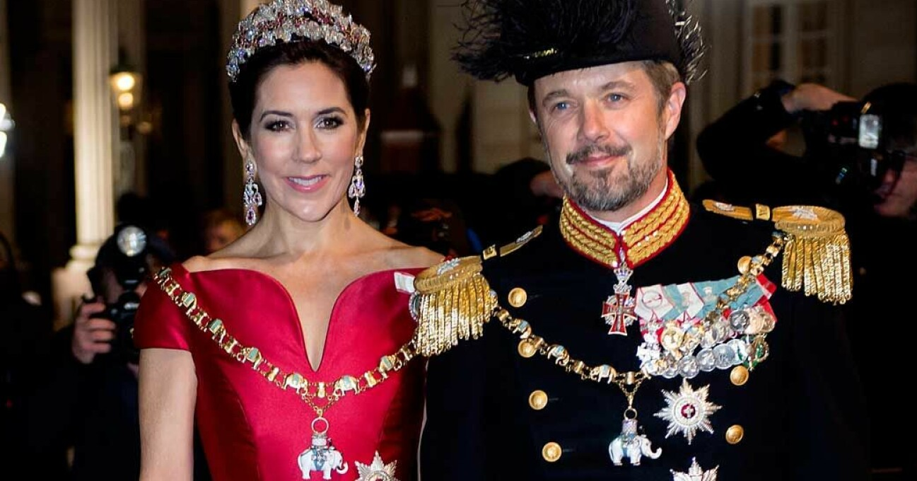 Kronprins Frederik Kronprinsessan Mary