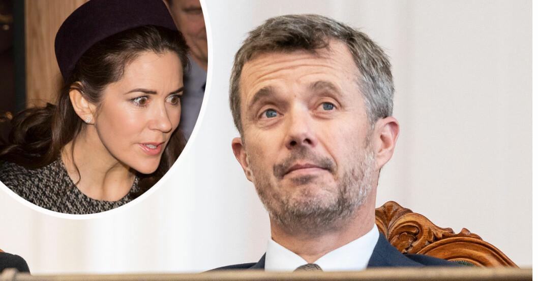 Kronprinsessan Mary och kronprins Frederik