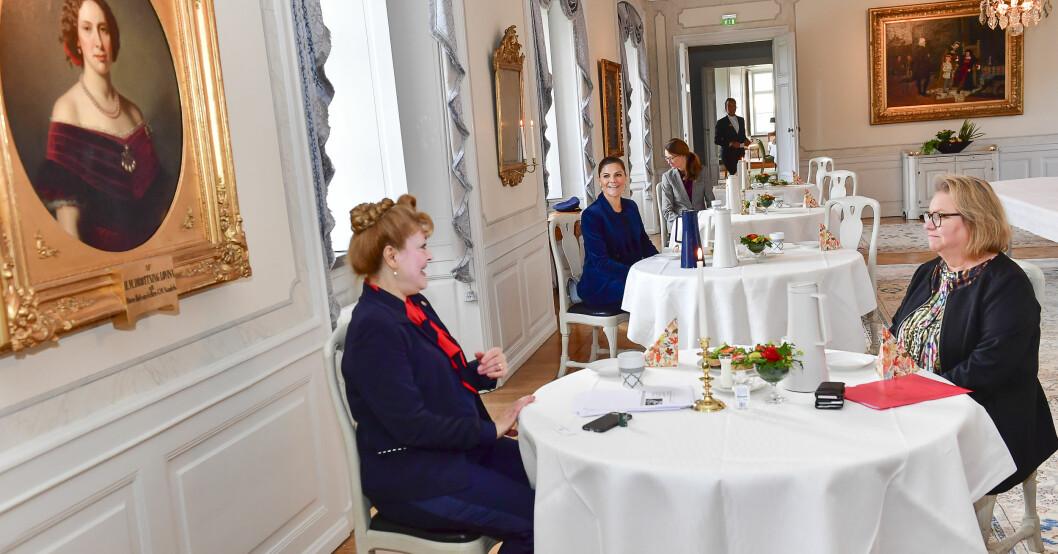 Kronprinsessan Victoria länsbesök Västmanland landshövding Minoo Akhtarzand