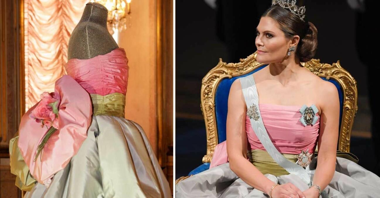 Kronprinsessan Victoria Nobel 2018 Nobelklänning 2018 Retro Nina Ricci