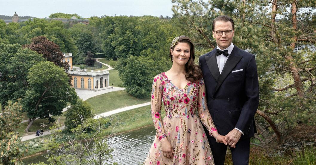 Kronprinsessan Victoria och prins Daniel bröllopsdag 2020