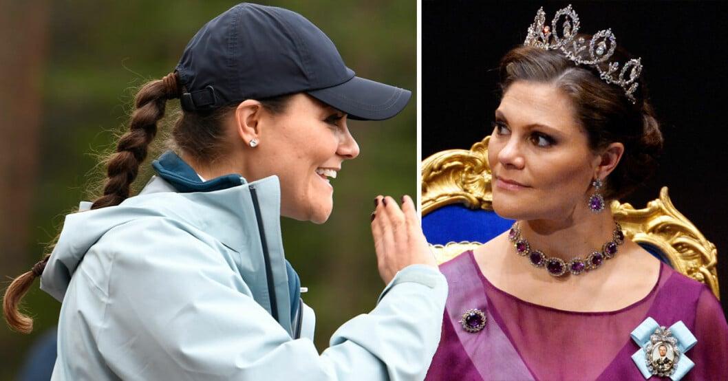 Kronprinsessan Victoria vanlig och kungilg