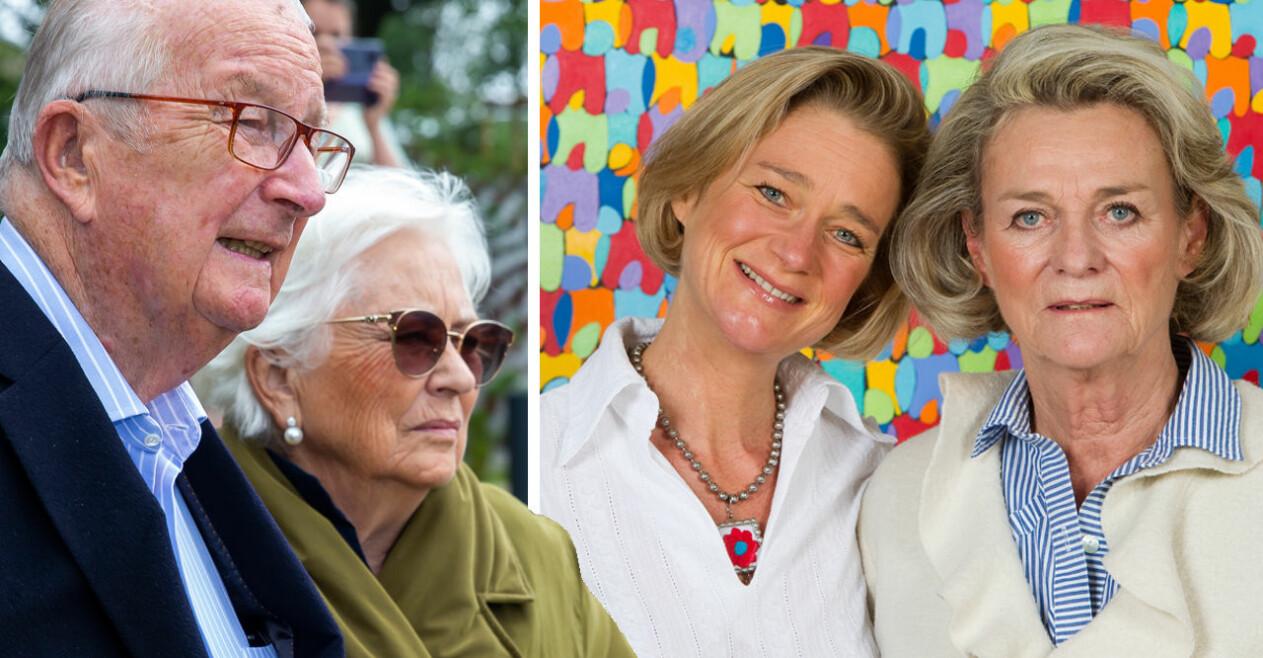 Kung Albert drottning Paola prinsessan Delphine Sybille de Selys Longchamps
