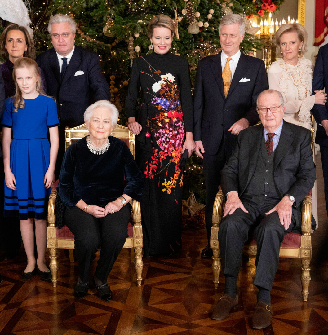 Den belgiska kungafamiljen.
