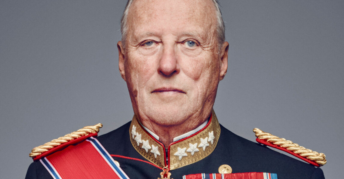 Kung Harald sjuk