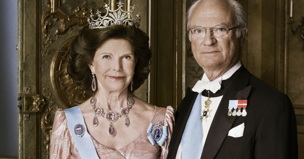 Kungen Drottning Silvia