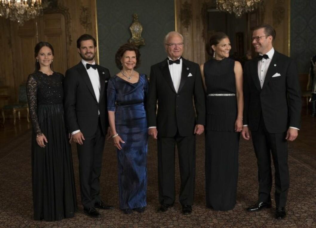Sweden Dinner, Royal Palace, Stockholm, 2016-09-16