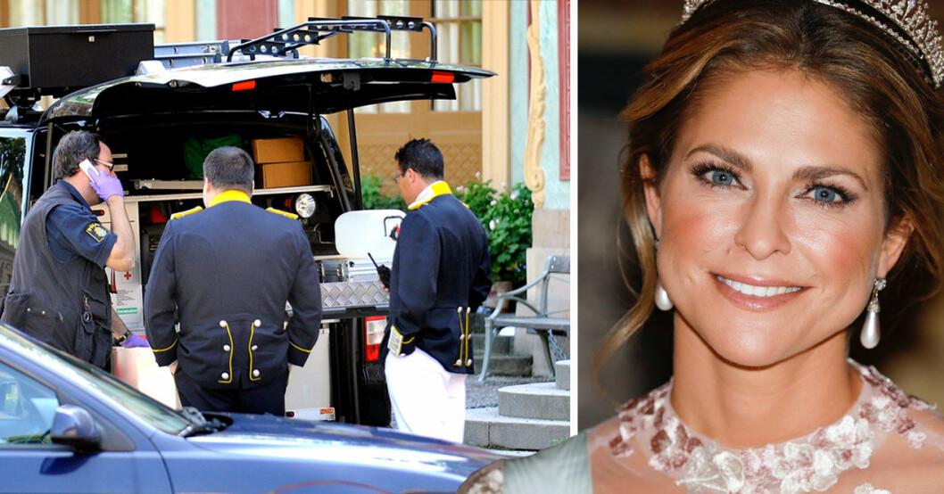Inbrott hos prinsessan Madeleine 2019 och stölden på Kina slott 2010.