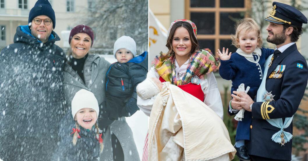 Svensk Damtidning avslöjar om kungafamiljens julfirande