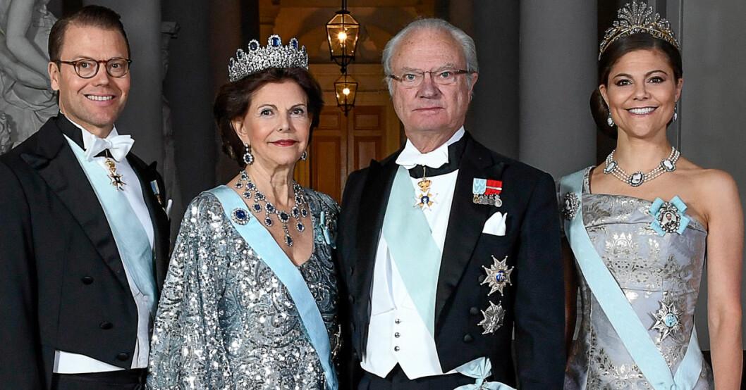 Kungen 75 Drottning Silvia Kronprinsessan Victoria Prins Daniel