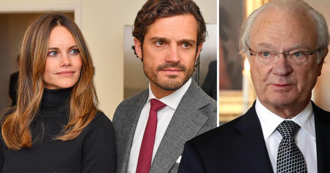 Kungen, prinsessan Sofia och prins Carl Philip