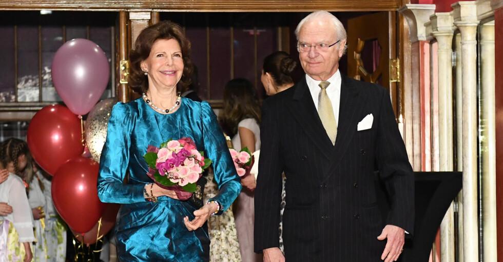 Kungen Drottning Silvia Kungaparet
