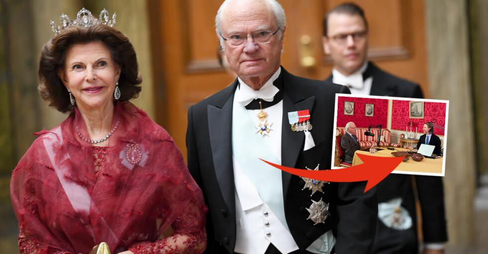 Kungen Drottning Silvia Kristoffer Triumf podden Värvet