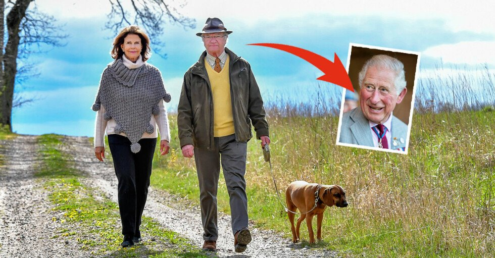 Kungaparet Hunden Brandie Prins Charles