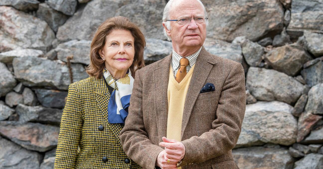 Kungen och Silvia på Stenhammar