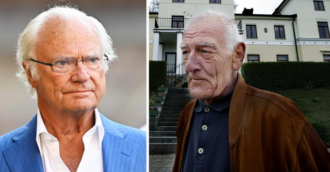 Kung Carl Gustaf och Jan Bernadotte