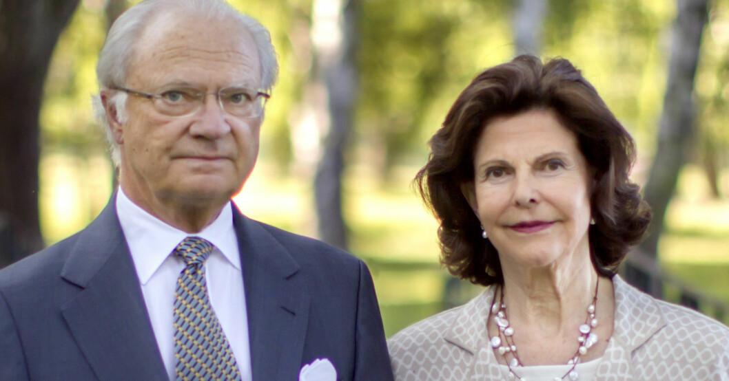 Kungen Kung Carl Gustaf Drottning Silvia Drottningen
