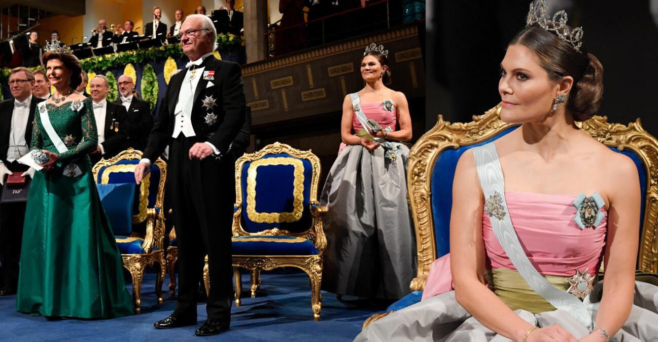Kungen Kung Carl Gustaf Drottningen Drottning Silvia Kronprinsessan Victoria Nobel Konserthuset