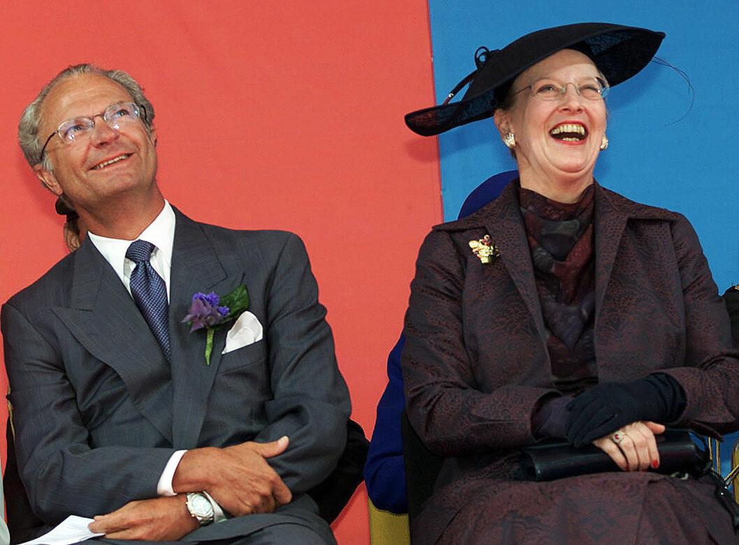 Kungen och drottning Margrethe