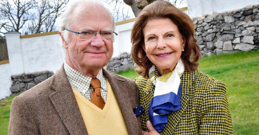 Kungen och drottningen på Stenhammar