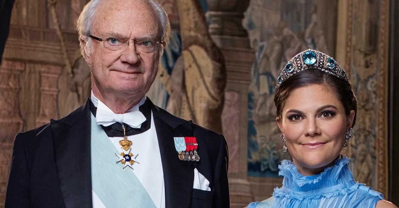 Kungen Kronprinsessan Victoria